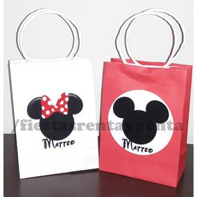 Bolsita Para Dulces Mickey Y Minnie