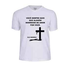 Camisa Camiseta Oração Evangélica Jesus Deus Banda Gospel Fé