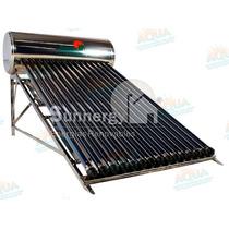 Calentador Solar 176 Litros. Acero Inoxidable. 15 Tubos