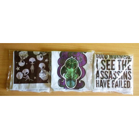 Pack De 6 Remeras - Cthulhu - Aliens - Frase Talles S M Y L