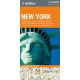 Guía Mapa De New York. De Dios Guías De Viaje. Nueva York