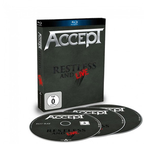 Accept - Restless And Live / Blu-ray + 2-cd