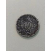 Moneda Antigua De 10 Centavos 1963