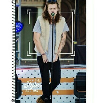 Caderno One Direction 1d Harry Styles 1 Materia