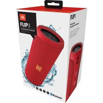 Caixa De Som Jbl Flip3 Para Aparelhos Com Conexão Bluetooth