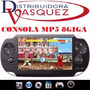 Consola 8gb Psp Mp5 Mp4 Mp3 Camara Digital Video Juegos Fm