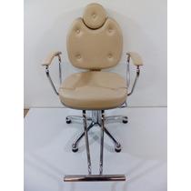 Poltrona Cadeira Fixa Pandora-moveis Salao Cabeleireiro