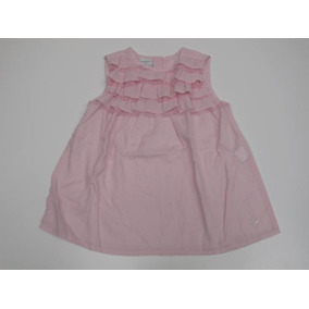 Vestido Sin Mangas De Hilo Rosa Cheeky Talle 4 Para Nena
