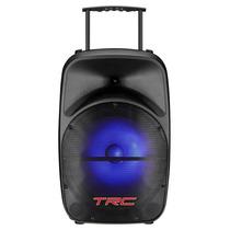Caixa De Som Portátil Trc Trc328 Bluetooth Usb Rádio Fm 100w