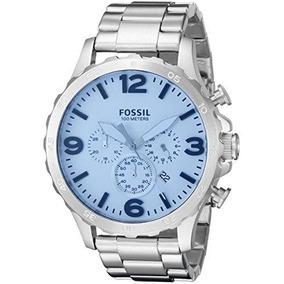 Reloj Fossil Nate Cronografo Jr1509 Acero Envio Gratis
