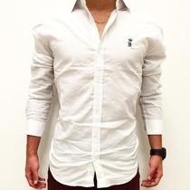 Camisa Masculina Sergio K Branca Original