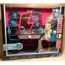 Monster High Peinador De Frankie Stein Hermoso Tocador