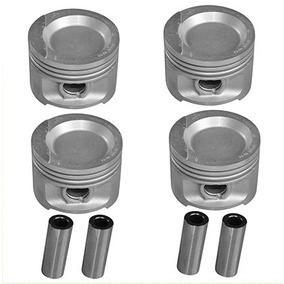 Jogo Pistão Std Motor Ap 1.8 Gas Biela Longa Metal Leve