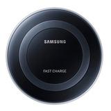 Cargador Inalambrico Rapida Carga Negro Galaxy Acce Samsung