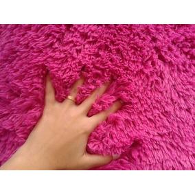 Tapete Rosa Pink Peludão - 2,00x2,40 - Frete Grátis