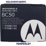 Bateria Motorola Bc50 Anatel K1 Z3 Z6 V3x Em35 L6 L7 U3