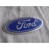 Emblema Ford Azul Claro Anos 80 /90 Escort Xr3 Landau