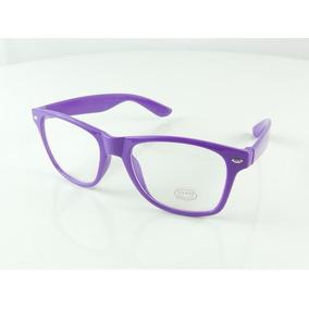 Armação Oculos De Grau Quadrada Roxa Violeta Lilas Show A763