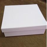 Caixa Branca Em Mdf 23x8x7