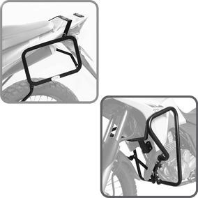 Kit Xre300 Protetor Motor Carenagem + Afastador Alforge Scam