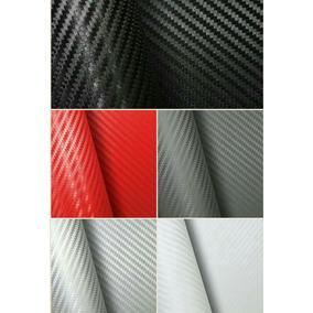 Adesivo Fibra De Carbono 100x50cm Moldavel