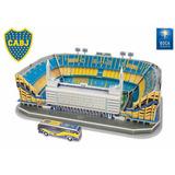 Maqueta 3d Boca Juniors La Bombonera Jugueteria El Pehuen