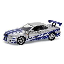 Nissan Gt-r Skyline R34 Velozes E Furiosos 1:32 Jada Toys