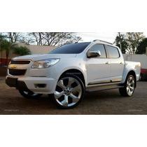 Jogo Rodas Trail Blazer Aro 20+pneus Novos Ranger S-10 L200