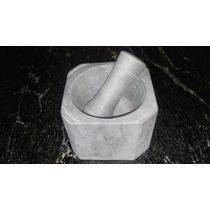 Pilão Quadrado 15x15 Cm Pedra Sabão Direto Da Fabrica