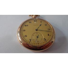 Relógio De Bolso De Fabricação Americana Marca Elgin .
