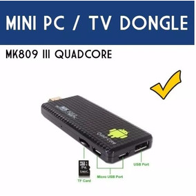 Mini Pc Android Mk809 Iii Smarttv Netflix Kodi Chromecast