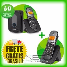 Porteiro Eletrônico Sem Fio Intelbras Tis 5010 + Ramal Extra