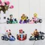 Super Mario Kart 6 Carrinhos Fricção Pronta Entrega