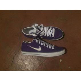 Tenis Nike Canvas Suede Dama Moda 25cm/24cm Lona Casual