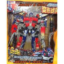 Transformer Optimus Prime Fireburst