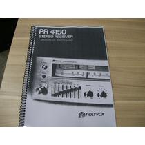 Manual Receiver Polivox Pr-4150 Cópia