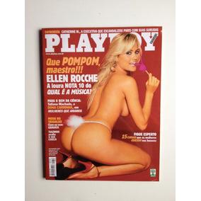 Revista Playboy Ellen Rocche A Loura Nota 10 Ano 2001 Nº316