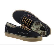 Vans Authentic (t&g) Black/gum R$ 279,00 N41 Supply Sneaker