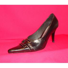 Zapatos Mujer Oficina Punta 5 Negro Talla 38