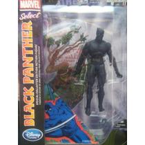 Figura Black Panther Marvel Select Disney Pantera Negra