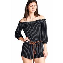 Romper Strapple Moda Fashion Casual Boutique Oferta Mayoreo