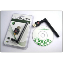 Adaptador De Rede Usb Wifi Wireless Chipset Ralink 5370 2dbi