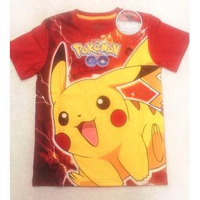 Polos Originales Pokemon Go Para Niños