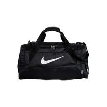 Bolso Deportivo Nike Modelo Brasilia 6 Medium Negro