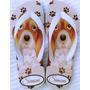 Chinelo Sandália Personalizado Com Foto De Seu Pet Gato Cão