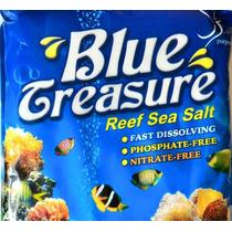 Sal Marinho Blue Treasure Reef Sea Salt 6,7kg Faz 200 Litros