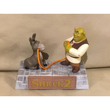 Brinquedo Coleção Boneco Shrek 2 Burro Dreamworks Miniatura