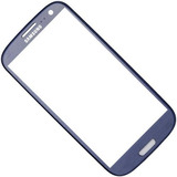 Tela Vidro S3 Galaxy I9300 Azul Lente Touch + 3m + Uv