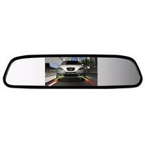 Espelho Retrovisor Monitor Para Câmera De Ré Tfl Lcd 4.3 V20