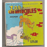 Megararo Comic Capulinita Zor Vs El Hombre Araña 1984